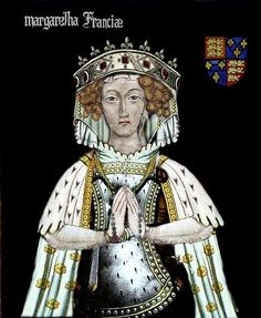 Marguerite Capet Reine D'Angleterre -Margaret of France (c. – 14 February a daughter of Philip III of France and Maria of Brabant, was Queen of England as the second wife of King Edward I. Uk History, French History, British History, Family History, French Royalty, English Royalty, Cultura General, Wars Of The Roses, Plantagenet