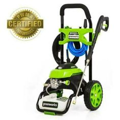 Greenworks 2000-PSI 1.2-GPM Cold Water Electric Pressure Washer GPW2006 #GreenWorks Outdoor Tools, Outdoor Decor, Lowes Home Improvements, Household, Cold, Things To Sell, Pressure Washers, Electric, Open Frame
