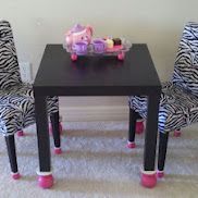 i have to remember this website !!  **ikea hackers - cool stuff  for the home made out of ikea products.  I've been wondering what to do with that table and chairs
