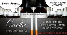 Cavalier - Versuchs mit Stil.