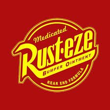 Image result for rayo mcqueen logo rusteze