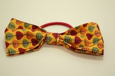 Fall Leaves Chain Bow Hair Band by LittlePeachFuzz on Etsy, $3.00