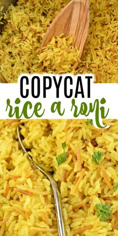 It's here! The Copycat Rice a Roni Recipe you've been waiting for. This Instant Pot Rice tastes like a better, fresher version of that boxed favorite and it's just as easy!