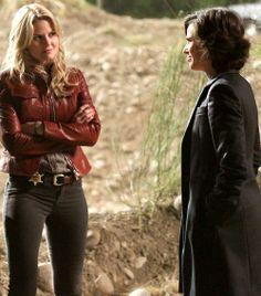 Once upon a time - Jennifer Morrison - Emma Swan - Lana Parrilla - Regina Mills - Evil Queen