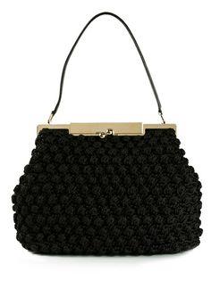 DOLCE and GABBANA Medium Crochet Bag