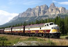 RailPictures.Net Photo: CP 4107 Canadian Pacific Railway EMD FP9 at Banff, Alberta, Canada by J. Morton