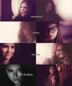 Still love Katherine despite her killing Jeremy