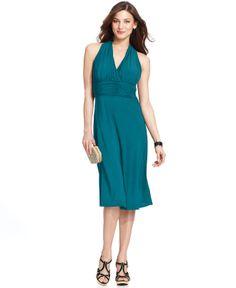 $50 Evan Picone Dress, Sleeveless Marilyn - Dresses - Women - Macy's