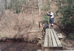 "My trip along the Appalachian Trail: Day 3 ""Nanosec"" at Blackwell Creek"