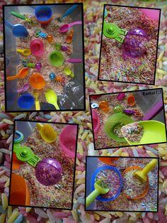 "Rainbow rice from Rachel ("",)"
