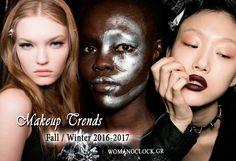 Όλες οι Νέες Τασεις Μακιγιαζ Φθινοπωρο Χειμωνας 2017 Salons, Fall Winter, Makeup, Movie Posters, Fashion Trends, Beauty, Make Up, Lounges, Film Poster