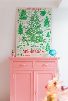 Cute colored corner