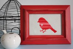 All In One Days Time: Little Bird Cross Stitch