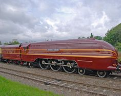 LMS streamlined Red and Gold No. 6229 Duchess of Hamilton