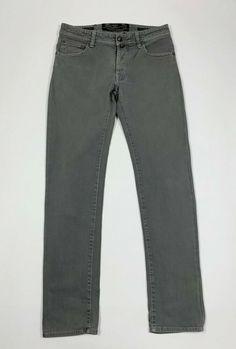 Da Uomo Navy Retro piatto fronte Sta Stampa Pantaloni Di Pelle Mod 60s 70s slim fit pants