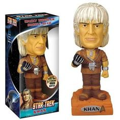 Star Trek 2 Wrath Khan khan bobbelhead