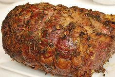 Garlic and herb prime rib roast ~ perfect for Christmas