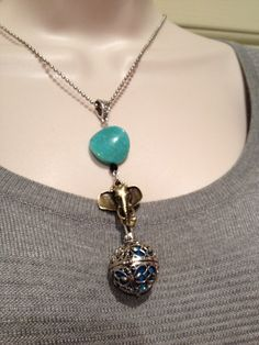 A personal favorite from my Etsy shop https://www.etsy.com/listing/478397217/essential-oil-diffuser-necklace-elephant