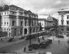 Milano Piazza della Scala primi anni 30 #TuscanyAgriturismoGiratola