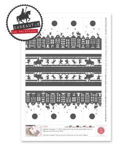 Sint-cadeautje van Printcandy: sinterklaas labels voor aan de pakjes.