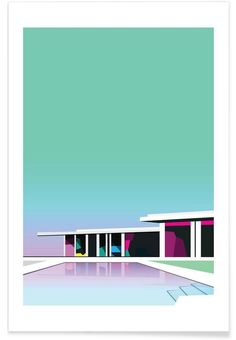Less than zero as Premium Poster by Three Of The Possessed | JUNIQE