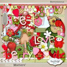 Digital Scrap Kits::Berrylicious