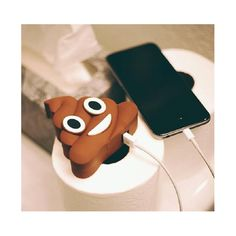 Emoji 2200mAH Powerbank with Charging Cable - 2 Options Available