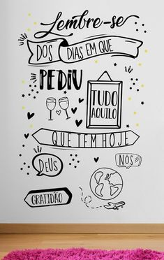 Lettering Tutorial, Letter Wall, Letters, Nail Salon Design, Chalk Wall, Bullet Journal School, Brush Lettering, Wall Lettering, Home Room Design