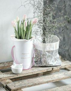 Blumen-Container DIY 🍃🌸