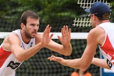 Five Canadian beach volleyball teams have advanced to the playoffs from group stage, including the duo of Sarah Pavan and Heather Bansely heading to round two of the Hamburg Major. Pavan and Bansle… Volleyball Team, Beach Volleyball, Latest Sports News, Summer Olympics, Olympians, Finals, Rio, Canada, Hamburg