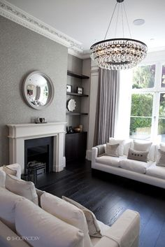 living edwardian victorian mirror terrace round grey decor interior london mirrors lounge modern shootfactory homes