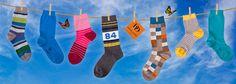 Dore Dore 1819 - www.dore-dore.fr - Découvrez la nouvelle collection de chaussettes DD pour les enfants - Collection Printemps/Eté 2013 - Chaussettes colorées en coton et fil d'écosse.