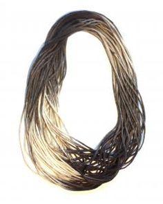 Felt loop scarf