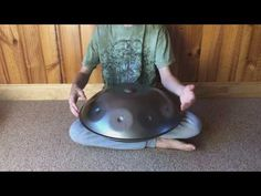 Highly resonant, handmade 9 note Handpan for sale in the scale of D Integral: and With hanging / carry bag included. Drums For Sale, D Minor, Carry Bag, Free Delivery, A3, Scale, Note, Handmade, Drum