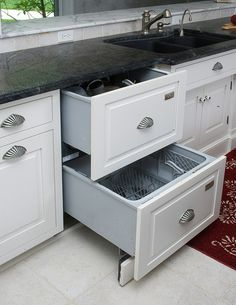 Dishwasher panels to match the cabinets