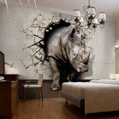 rhino in the bedroom