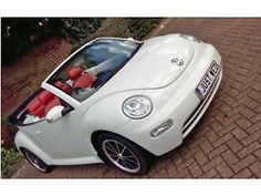 One of a kind and truly rare to find, this modern beetle is the ideal bridal ride  ONLY £150 per day (5 hour hire) (That's cheaper then most other wedding car hires on gumtree)  Chauffeur Driven VW beetle convertible available for Weddings, Proms, Film, stag/ hen nights, all other occasions.  We are based in Leatherhead Surrey, so we will normally travel within 35 miles   For availability and more information please contact us on: Tel No: 07932910047 (08:30 – 22:00)