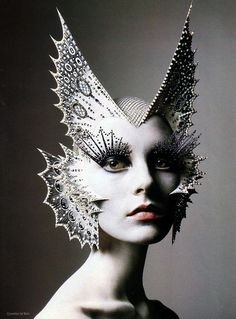 """""""Masks"""" by Richard Burbridge. theatrical fashion photography for grimm and fairy avante garde lovers"""