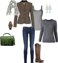 """Cozy fall"" by kvbijou on Polyvore"