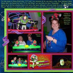 Buzz Lightyear's Space Ranger Spin - Page 2 - MouseScrappers.com