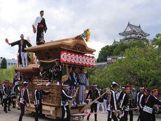 Kishiwada-Danjirimaturi in Osaka  岸和田だんじり祭