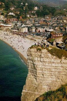 Etretat, France   #travel #France