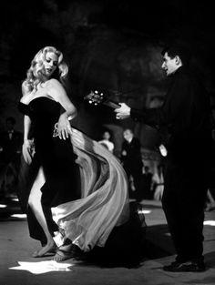 "Anita Ekberg, from the movie ""La Dolce Vita"" by Federico Fellini, Italy, 1960"