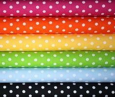,Polka Dot fabric.