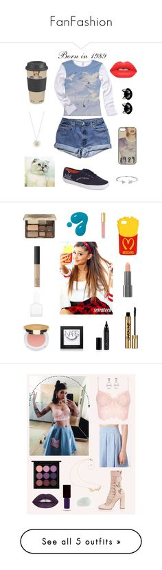 """FanFashion"" by hipstercats ❤ liked on Polyvore featuring Keds, Daisy Jewellery, Erstwilder, Bling Jewelry, Lime Crime, beauty, Moschino, Too Faced Cosmetics, NARS Cosmetics and Isaac Mizrahi"