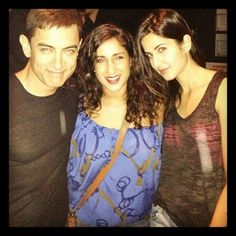 Aamir Khan, Katrina Kaif in Chicago on location of Dhoom Dhoom 3, Bollywood Actors, Bollywood Style, Aamir Khan, Katrina Kaif, Hd Photos, Chicago, Actresses, T Shirts For Women