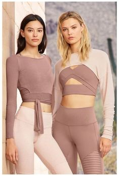 Barre Long Sleeve #barre #workout #clothes #outfits workouot outfits that make you wanna work out. s Cute Workout Outfits, Fitness Outfits, Workout Attire, Sporty Outfits, Athletic Outfits, Cute Outfits, Athletic Wear, Workout Wear, Yoga Fashion