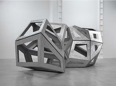 """""""Congregate"""" by Richard Deacon from L.A. Louver #architecture #metal #museum"""