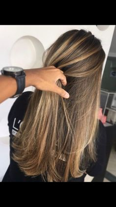 27 Blazing Hot Red Ombre Hair Color Ideas in 2019 - Style My Hairs Hair Color And Cut, Brown Hair Colors, Ombre Hair, Balayage Hair, Haircolor, Brown Blonde Hair, Pinterest Hair, Blonde Highlights, Natural Highlights