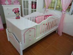 lore cunas cuna funcional stylo torneada maciza eleji color Baby Nursery Bedding, Girl Nursery, Baby Room Decor, Baby Cribs, Kids Furniture, Kids Room, Toddler Bed, Ikea, Storage
